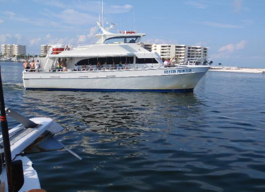 Partyboats for Party boat fishing destin fl