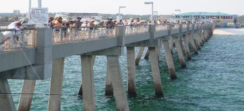 Fishing destin guide for Destin fishing pier