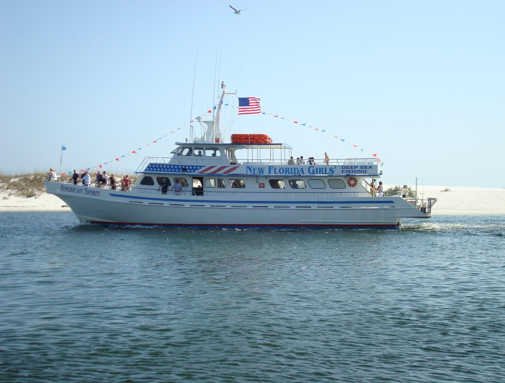 Partyboats for Fishing in destin fl
